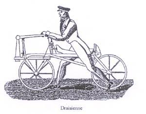 evolution du vélo de 1817 a nos jours